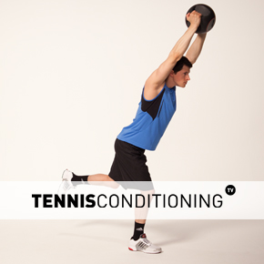 Single Leg Overhead Med Ball Pull Over
