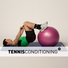 Physio Ball Leg Curl Shoulder Extension