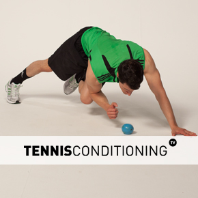 Push Up to Contralateral Limb Raise to Flexion
