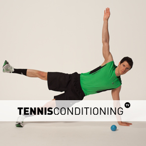 Push Up to Ipsilateral Arm and Leg Ceiling Raise