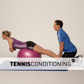 Assisted Prone Physio Ball Trunk Extension