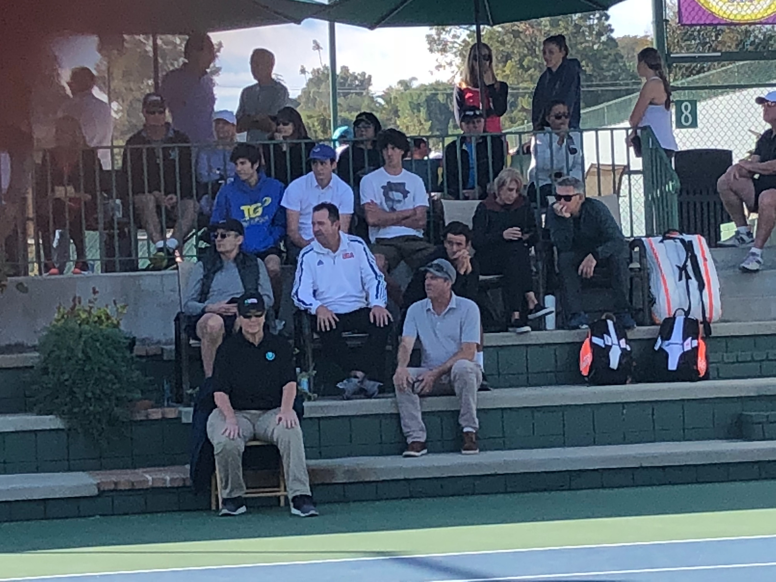 Tennis Big Crowds And Facebook Live Viewers From The Utr