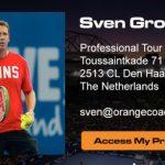 New Tennis App: ACES Tennis Management – Sven Groeneveld – Orange Coach