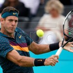 Rain Subsides Briefly, Long Enough For Del Potro To Win… And Then Withdraw From Queen's Club Tennis