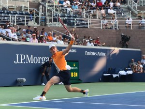 Canadian tennis player-Denis Shapovalov at the US open