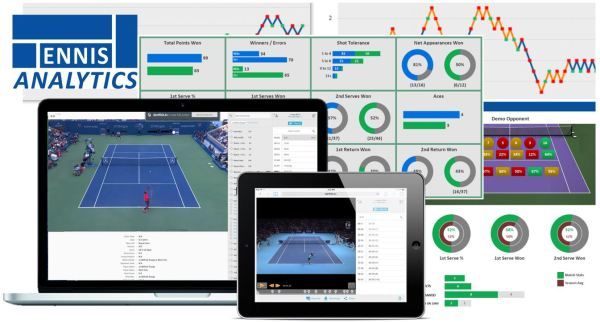 Tennis Analytics match reports