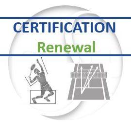 Tennis Coaching Certification Renewal