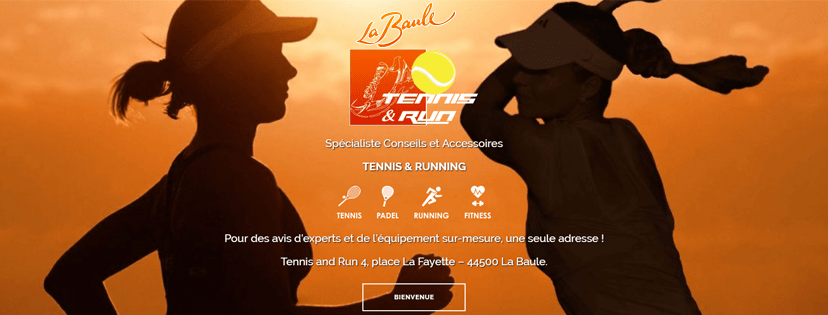 Tennis and Run nouveau site internet