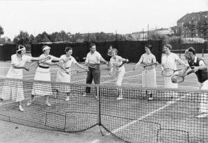 KdF-Sport, Tennis