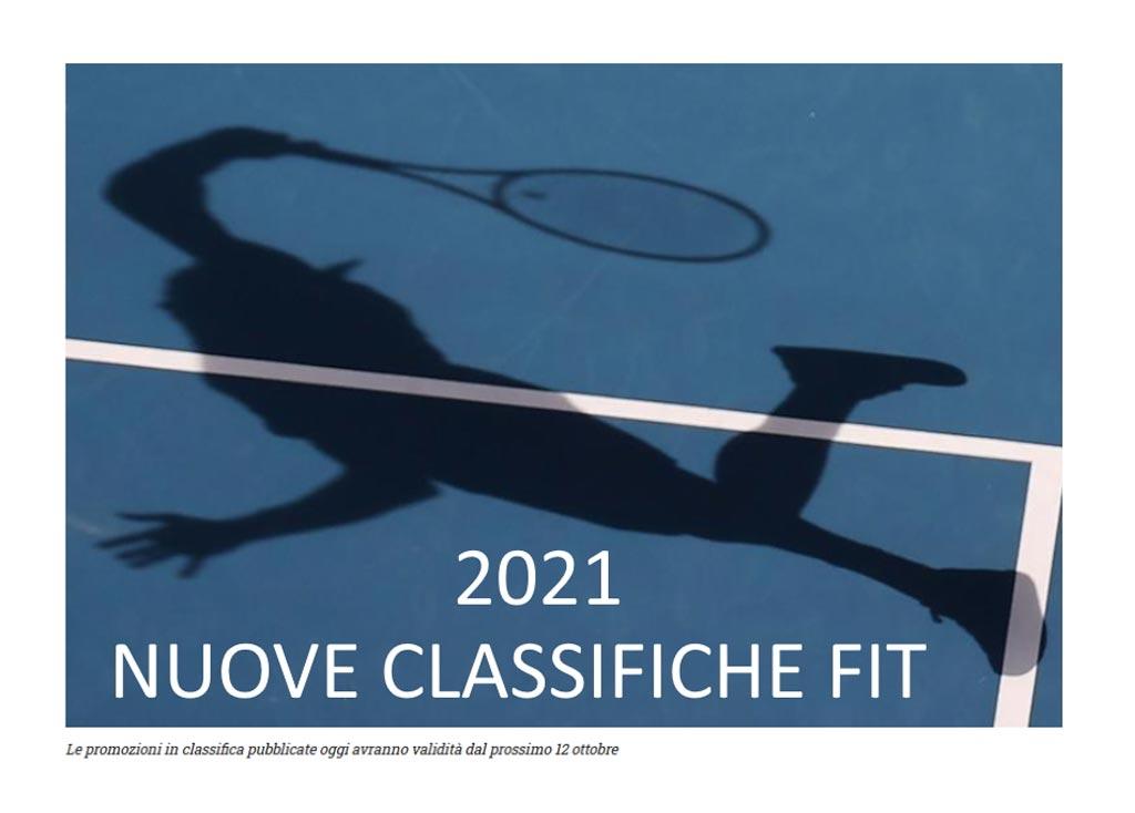 NUOVE CLASSIFICHE FIT 2021