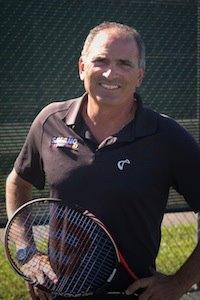 Nick Saviano, tennis coach and author of Maximum Tennis