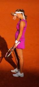 Petra Kvitova. The 2012 Roland Garros