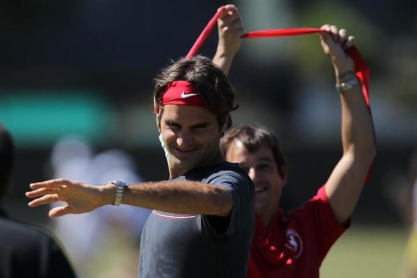 Roger Federer's fitness