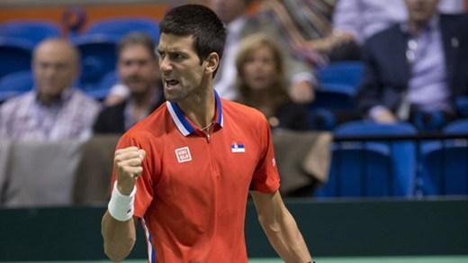 Djokovic won Davis Cup for Serbia