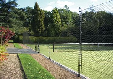Sporturf tennis court surface by En Tout Cas