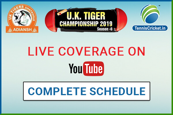uk tiger 2019 schedule