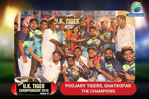 uk winners poojary tigers