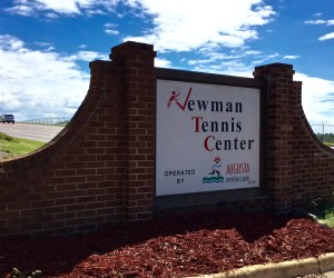 Newman Tennis Center // Public Facility with High Quality Tennis in the Home of The Masters