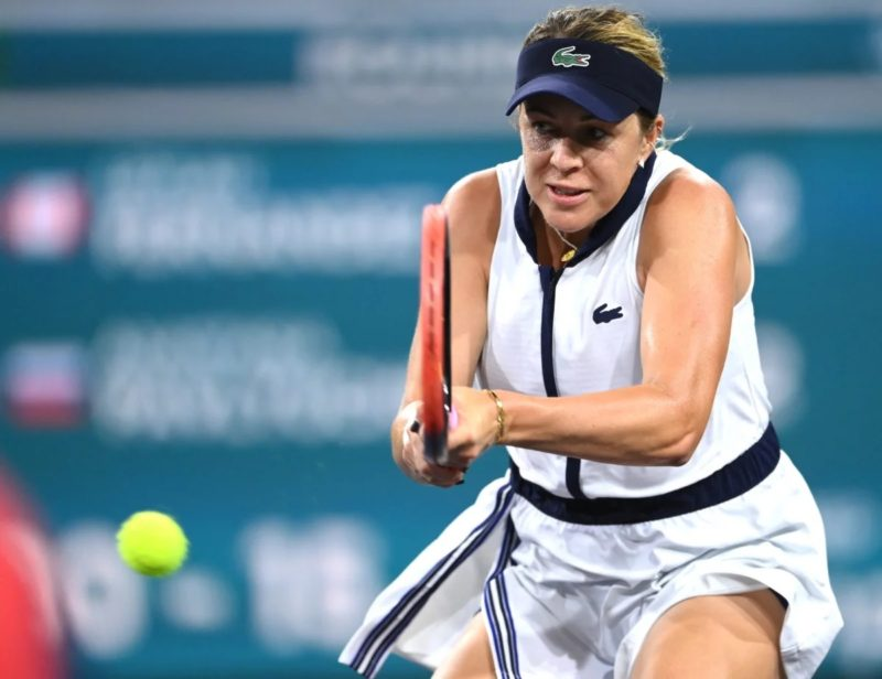 Leylah Fernandez at Indian Wells