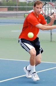 tennis backhand slice