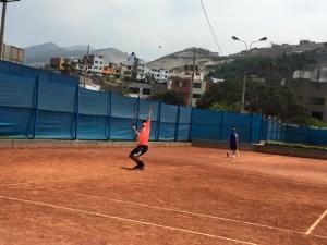 tennis serve technique