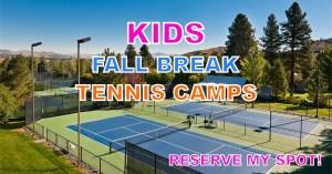Kids Tennis Camps in Reno Nevada