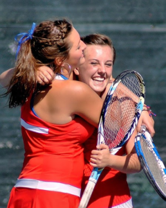 High School Tennis Athletes