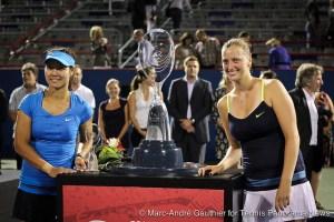 LiNa Petra Kvitova Montreal trophies