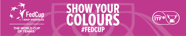 fed cup colours