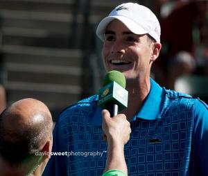 Isner interviewed