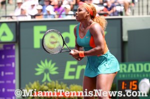 Serena Williams photo courtesy of MiamiTennisNews.com
