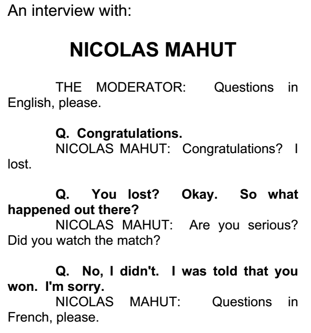 Mahut