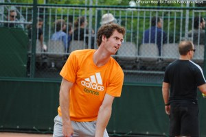 RG Andy Murray practice