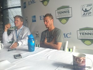 Lleyton Hewitt in Press
