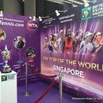 WTA Finals race to the semifinals heats up; Halep first through