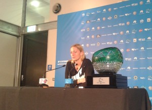 Petra with trophy