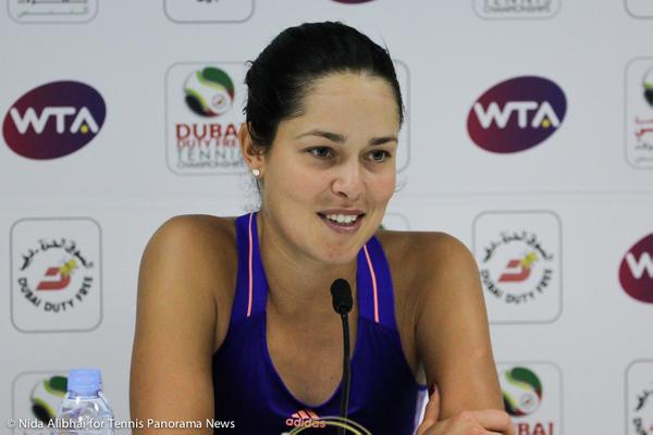 Ana Ivanovic in press in Dubai-001