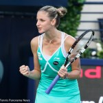 Top Seed Karolina Pliskova Saves a Match Point to Move into the Round of 16 at US Open