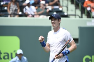 Andy Murray fistpump