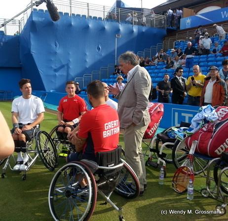 Wheelchair Tennis at queens club