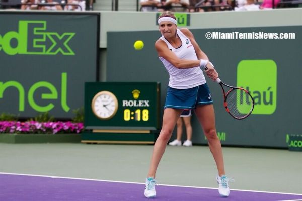 Timea Bacsinszky photo courtesy of MiamiTennisNews.com
