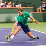 Vasek Pospisil Beats No. 1 Andy Murray at BNP Paribas Open