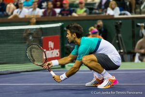 Verdasco squat at net