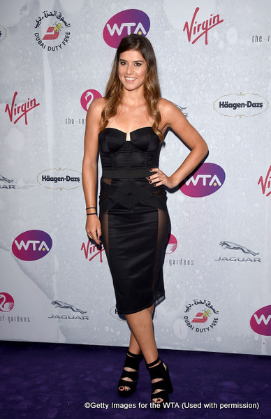 LONDON, ENGLAND - JUNE 23:  Sorana Cirstea attends the annual WTA Pre-Wimbledon Party presented by Dubai Duty Free at the Kensington Roof Gardens on June 23, 2016 in London, England.  (Photo by Stuart C. Wilson/Getty Images for WTA Tour)