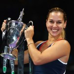 Cibulkova Wins WTA Finals in Debut; Mirza Clinches Year- No. 1 in Doubles
