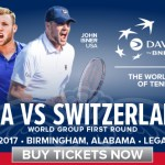 Davis Cup: Home Cookin' in the Deep South; Sock, Isner Give U.S. 2-0 Lead Over Switzerland In First Round