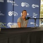 Maria Sharapova News Conference Before World Team Tennis Match Between the OC Breakers and SD Aviators