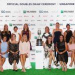 Doubles Draw Announced for 2017 BNP Paribas WTA Finals Singapore