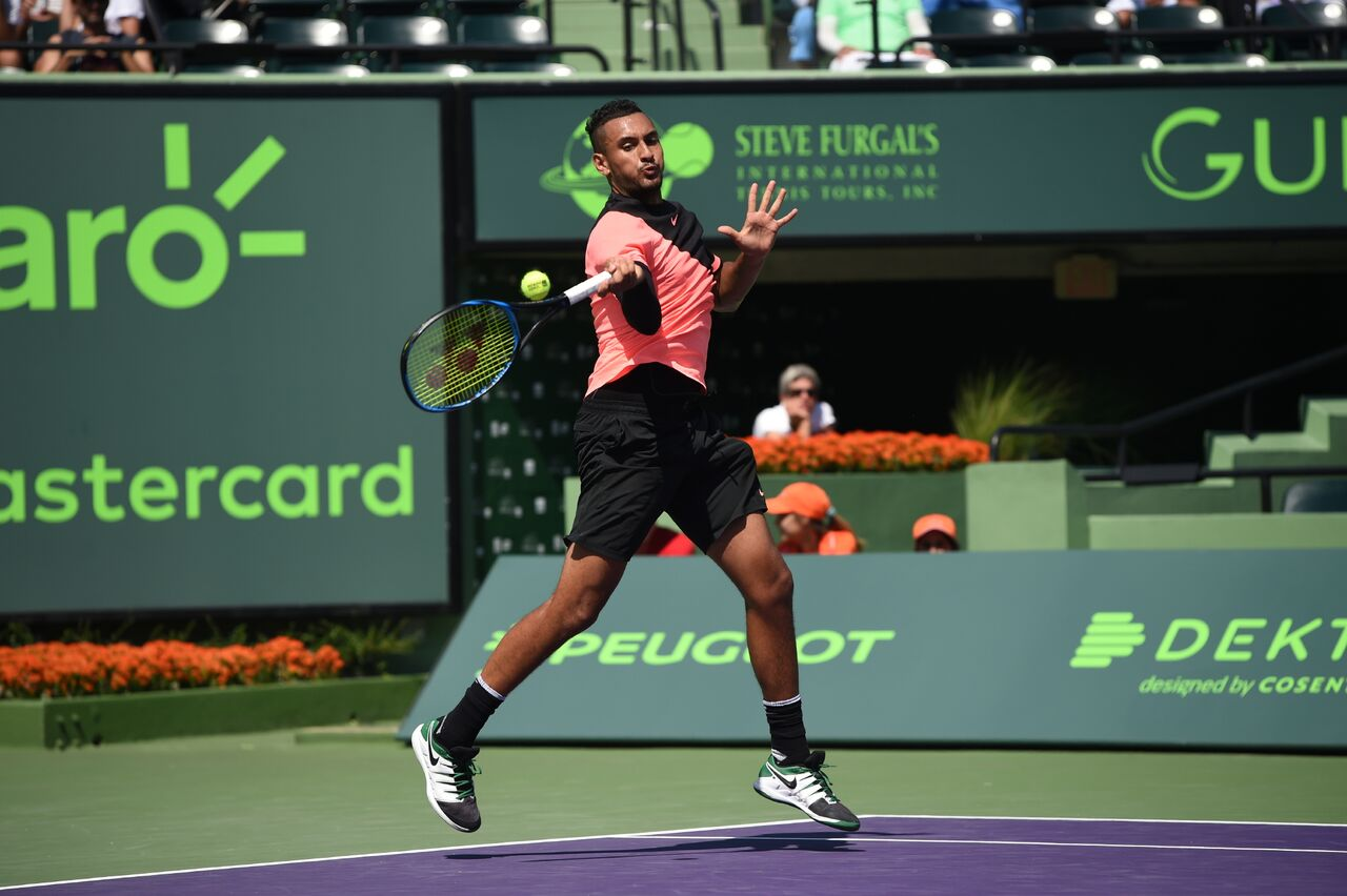 Kygios Miami Open