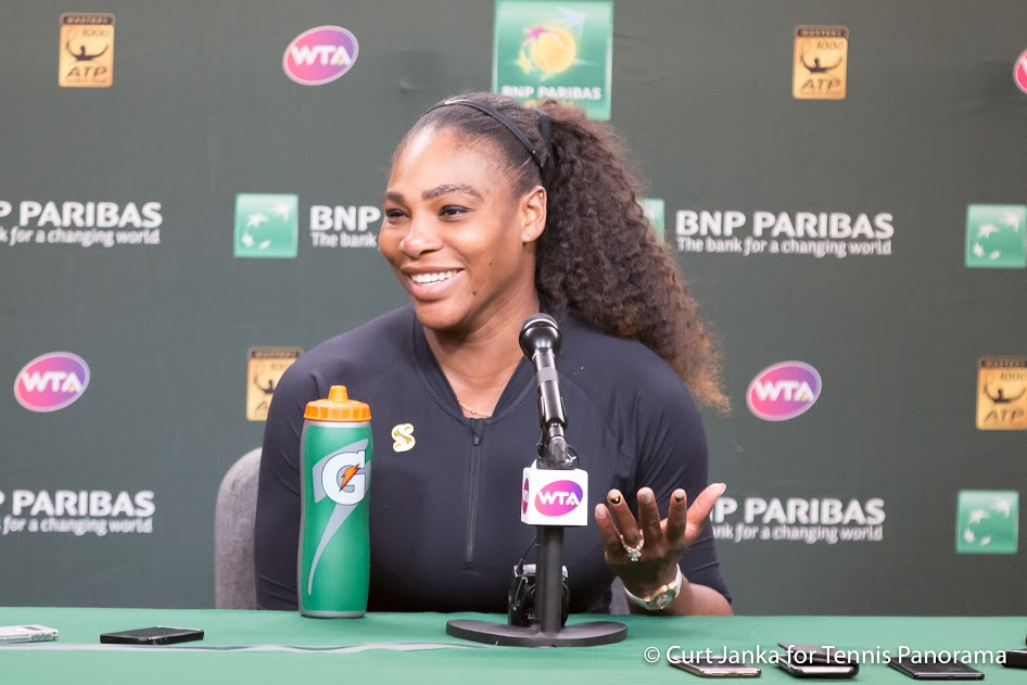 Serena Williams has admitted she 'definitely' wants another baby